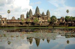 Angkor Wat cambodia postcard front
